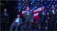 VIDEO: 5 cựu Tổng thống Mỹ đứng chung một sân khấu