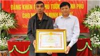 Truy tặng Bằng khen của Thủ tướng Chính phủ cho nhà báo Đinh Hữu Dư