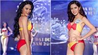 Đường cong 'nóng bỏng' của người đẹp Hoa hậu Đại dương trong trang phục bikini