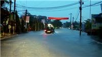 Hình ảnh Hà Tĩnh bị chia cắt trong mưa lũ áp thấp nhiệt đới