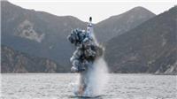 Mỹ khẳng định Triều Tiên đang đóng tàu ngầm trang bị tên lửa đạn đạo mới