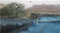 Bão số 12 'đổ bộ' Khánh Hòa gây mưa to, gió lớn