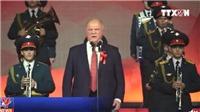 VIDEO 100 năm Cách mạng tháng Mười Nga: Ngày lễ của quá khứ, hiện tại và tương lai
