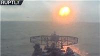 NATO điều tiêm kích tới Đông Âu, khinh hạm Nga ồ ạt phóng tên lửa hạ gục kẻ thù