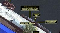 Lần đầu lộ ảnh từ vệ tinh Triều Tiên bí mật chế tạo 'tàu ngầm tên lửa đạn đạo'
