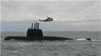 Hai thủy thủ thuộc biên chế tàu ngầm Argentina mất tích thoát nạn