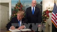 Tổng thống Mỹ Donald Trump chính thức công nhận Jerusalem là thủ đô của Israel