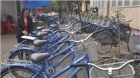 Thí điểm xe đạp công cộng ở trung tâm: Để không... xếp xó