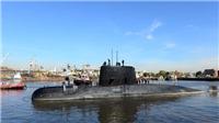 Sóng to, gió lớn khiến nỗ lực tìm kiếm tàu ngầm Argentina ngày càng vô vọng