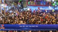 VIDEO: Vui Tết Tây tại phố Tây