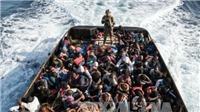Libya giải cứu 270 người di cư gặp nạn trên biển