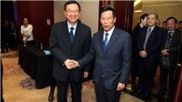 Bộ trưởng Nguyễn Ngọc Thiện thăm và làm việc với Bộ trưởng Bộ Văn hóa Trung Quốc Lạc Thụ Cương