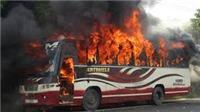 Cháy xe bus tại Kazakhastan, 52 người thiệt mạng