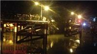 Vụ sập cầu Long Kiểng: Nghi có 2 người mất tích