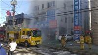 Vụ cháy bệnh viện ở Hàn Quốc: Số người chết đã lên tới 41 người