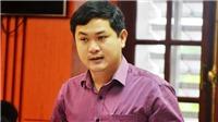 Tạm đình chỉ công tác Giám đốc Sở Kế hoạch Đầu tư tỉnh Quảng Nam Lê Phước Hoài Bảo