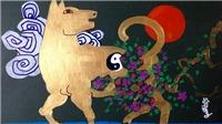 Họa sĩ Lê Trí Dũng: Kể chuyện 'nuôi' chó đá và vẽ linh vật Mậu Tuất