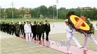 Kỷ niệm 88 năm Ngày thành lập Đảng: Lãnh đạo Đảng, Nhà nước viếng Lăng Chủ tịch Hồ Chí Minh
