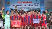 Giải bóng đá Thiên Long 2017 - Cúp Trần Doãn: Đại hội võ lâm