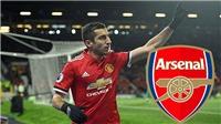 Arsenal nên dùng sơ đồ nào với Mkhitaryan?
