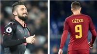Chelsea: Giroud không chất, nhưng hợp lý hơn Dzeko