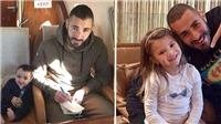 Hai người phụ nữ bí ẩn sinh con cho Benzema