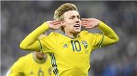Có ngôi sao mới này của Thụy Điển, M.U hứa hẹn sẽ bùng nổ