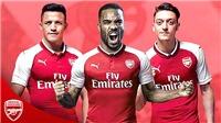 Wenger sẽ 'tất tay' với bộ ba tấn công 'SML' của Arsenal