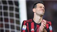 Hàng công vô hại, Milan khó gượng dậy