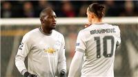 M.U: Ibrahimovic vẫn sẽ là cú hích cho Lukaku