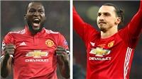 Arsenal-M.U (0h30, 3/12): M.U cần Ibrahimovic hay Lukaku hơn?