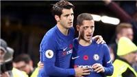 Hazard thay đổi lối chơi nhờ Morata