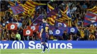 Barca đã đòi độc lập cho xứ Catalunya bằng cách văn minh nhất