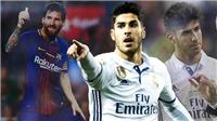 Marco Asensio: 'Zidane nói chỉ có Messi chơi chân trái hay hơn tôi'