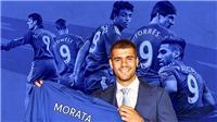 Morata có phá dớp áo số 9 ở Chelsea?
