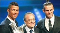 Mỗi năm bầu cử, Florentino Perez lại đưa về Real Madrid 1 ngôi sao