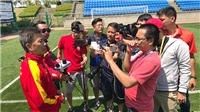 Phóng viên theo chân các đội tuyển quốc gia:  'Không sợ khổ, chỉ sợ đội tuyển thua khiến view thấp'