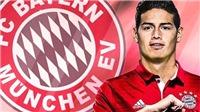 Bayern quá hời khi được Real Madrid 'tặng' cho James Rodriguez