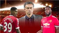 Lukaku-Rashford hứa hẹn bùng nổ trong sơ đồ 3 hậu vệ của Mourinho