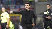 Milan không thắng Chievo, Montella ra đường?