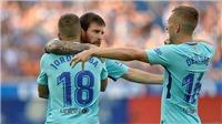 Barca ngày càng đáng sợ với cặp đôi hoàn hảo Messi - Alba