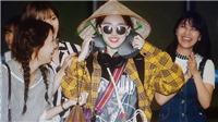 Trông Nayeon của Twice thật 'lạ mắt' với nón lá Việt Nam
