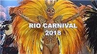 'Nóng mắt' với những hình ảnh sống động, đầy màu sắc tại Carnaval ở Rio de Janeiro