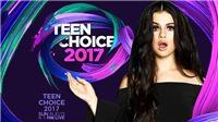 Phong cách lạ 'từ đầu tới chân' của dàn sao trên thảm đỏ Teen Choice Awards 2017
