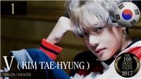 V của BTS – Gương mặt đẹp trai nhất năm 2017