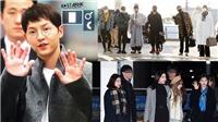 Song Joong Ki cùng dàn sao Hàn 'đổ bộ' sân bay Hong Kong