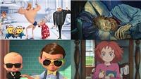 10 phim hoạt hình đình đám 2017: Despicable Me, The Boss Baby, Coco...
