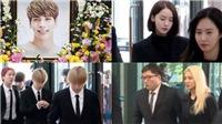 Dàn sao Hàn đau buồn tiễn đưa Jong Hyun lần cuối