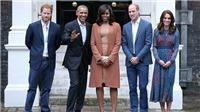 Khoảnh khắc Hoàng tử Harry làm mặt xấu 'dọa' cựu Tổng thống Mỹ Obama