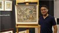 Nhà sưu tập 8X bỏ cả tỷ đồng mua tranh Việt